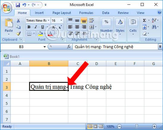 Cố định dòng hoặc cột trong Excel 2003 Đơn Giản, Nhanh Nhất