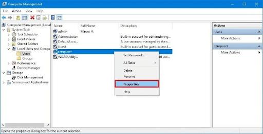 Cách Đổi tên đăng nhập trên Windows 10 Bằng Microsoft
