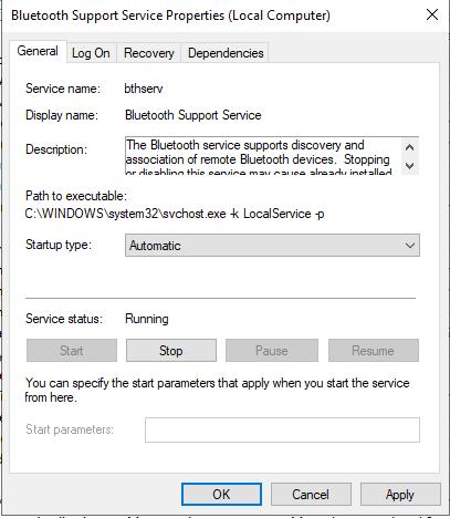Cách khắc phục lỗi bị mất Bluetooth trên windows 10