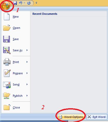 [Khắc Phục] Lỗi Macro Security Setting Word 2007, 2010