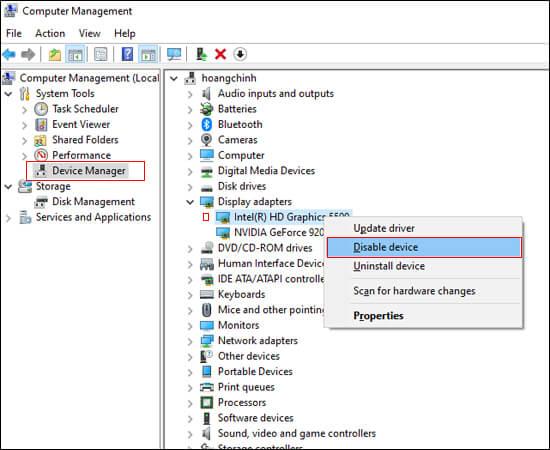 Cách sửa lỗi màn hình đen khi khởi động Windows 8 và 10