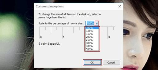 Cách khắc phục hiện tượng chữ mờ, nhòe trên Windows 10 và 8