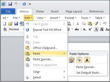 Hướng dẫn cách Copy bảng trong Word 2010