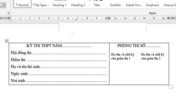 Hướng dẫn cách đặt Tab trong bảng Word 2010 dễ thực hiện