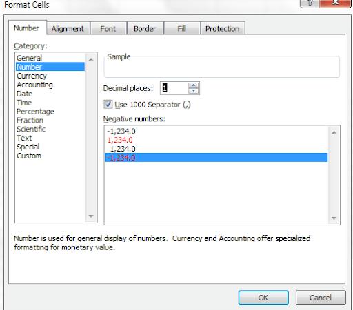 Cách giữ nguyên số lẻ trong Excel - Không làm tròn số