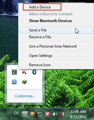 Cách gửi file qua Bluetooth Win 10 giữa Máy tính & Điện thoại