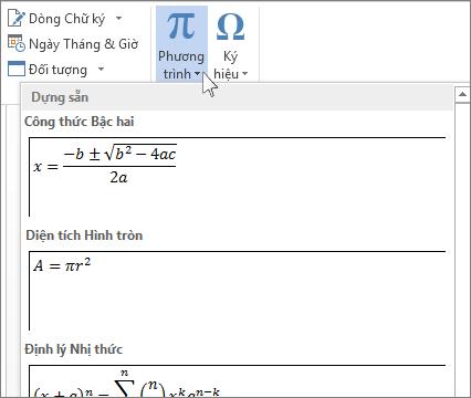 Hướng dẫn Cách viết hệ phương trình trong Word