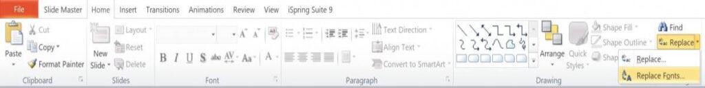 Cách chỉnh font chữ mặc định trong PowerPoint 2010 Đơn Giản