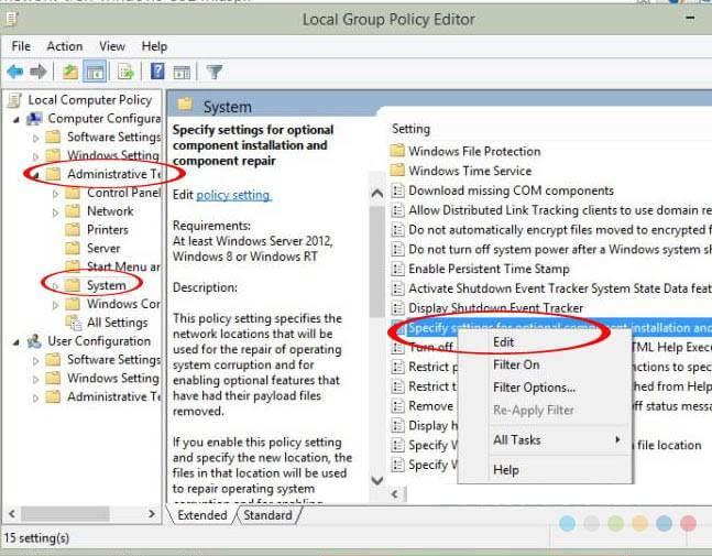 Khắc phục lỗi không cài được NET Framework 4.5 trên Win 7