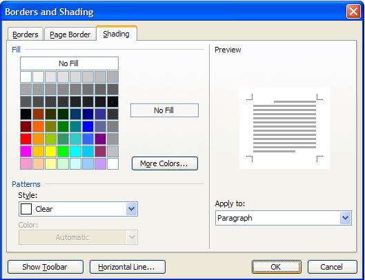 Cách tô màu nền cho dòng văn bản trong Microsoft Word